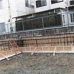 基礎梁鉄筋圧接工事・基礎鉄筋・深基礎地下梁 (6)