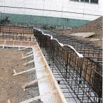 基礎梁鉄筋圧接工事・基礎鉄筋・深基礎地下梁 (4)