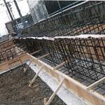 基礎梁鉄筋圧接工事・基礎鉄筋・深基礎地下梁 (2)