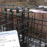基礎梁鉄筋圧接工事・基礎鉄筋・深基礎地下梁 (3)